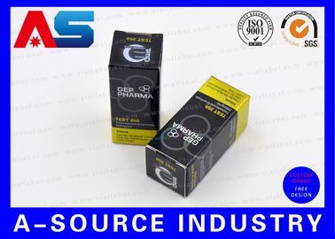 GEP Box Laser 10ml Vial Boxes Professional Pantone Colors Small Shipping Boxes
