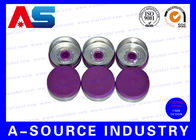 ประเทศจีน ISO Approval Purple 20mm Flip Top Cap Pharmaceutical 10ml Bottle Flip Off Vial Caps บริษัท